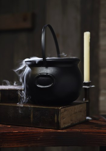 "8"" Witch Kettle Cauldron Decoration"