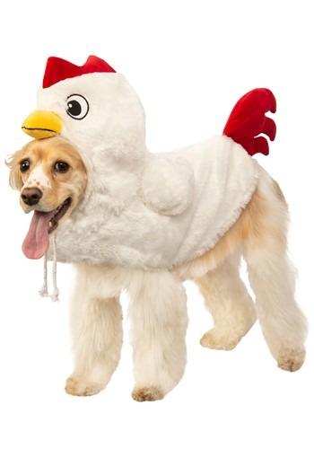 Clucking Chicken Dog Costume