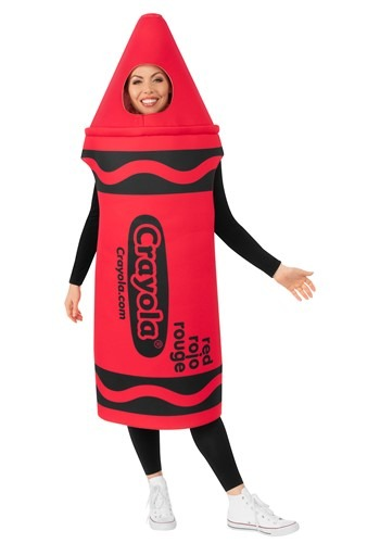 Crayola Red Crayon Adult Costume