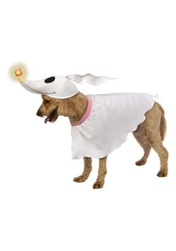 Nightmare Before Christmas Zero Dog Costume with Light-up No