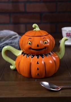Jack-O-Lantern Tea Pot