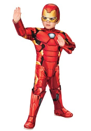 Iron Man Deluxe Toddler Costume