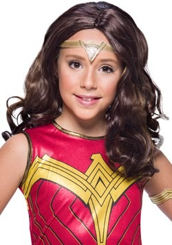 Wonder Woman Child Wig