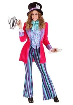 Womens Whimsical Mad Hatter Costume