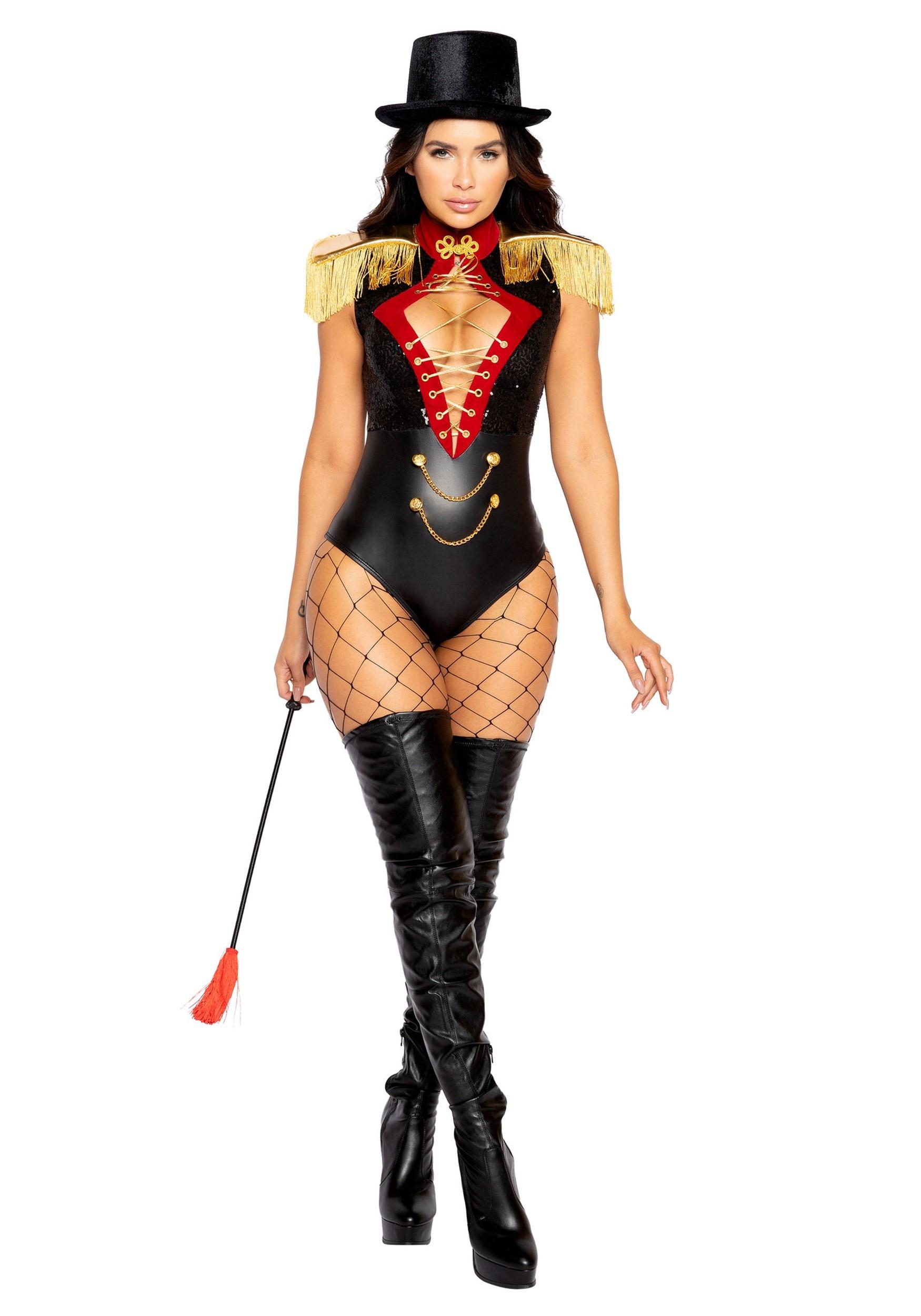Beauty Ringmaster Costume For Women