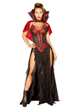 Women's Sexy Blood Lusting Vampire Costume