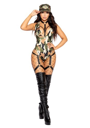 Women's Army Hottie Costume