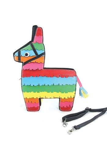 Multicolored Pinata Cross Body Bag