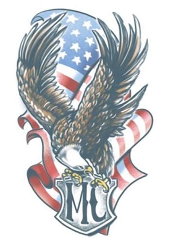 Temporary Eagle FX Tattoo