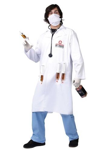 Adult Dr Shots Costume