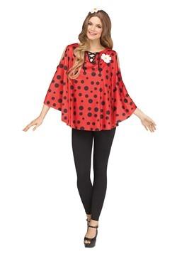 Women's Ladybug Poncho