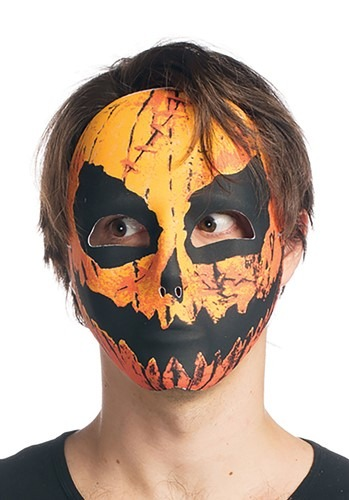 Sublimated Pumpkin Mask