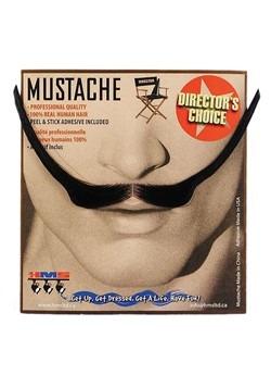 1890's Style Mustache Black