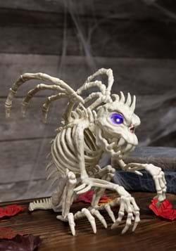Gargoyle With Lights Skeleton Décor