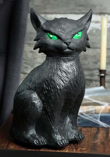 Animated Creepy Cat Décor