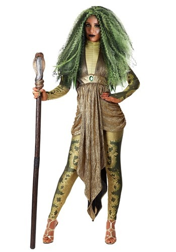Women's Plus Size Deluxe Medusa Costume