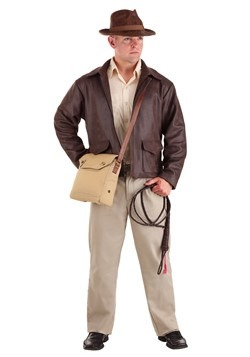 Indiana Jones Men's Plus Size Premium Costume