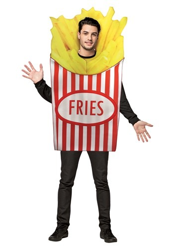 Adult French Fries Costume