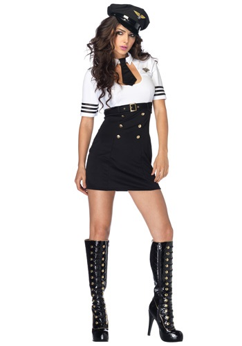 First Class Pilot Captain Costume