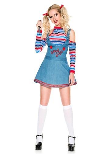 Women's Sexy Good Guys Doll Costume