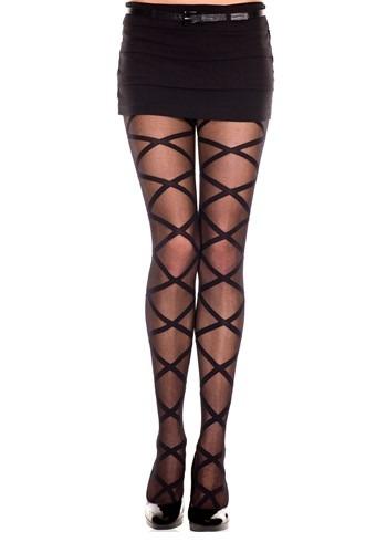 Women's Criss Cross Leg Wrap Tights