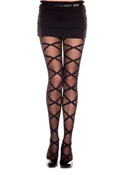 Women's Criss Cross Leg Wrap Tights