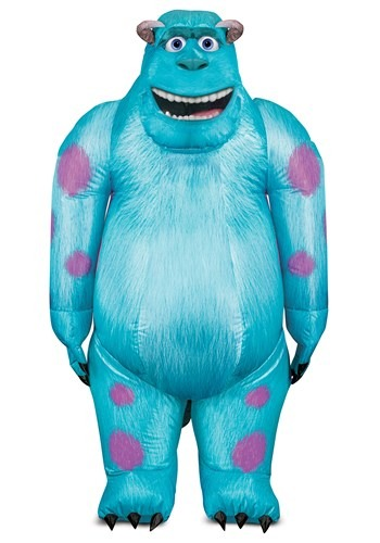 Monsters Inc Adult Sulley Inflatable Costume