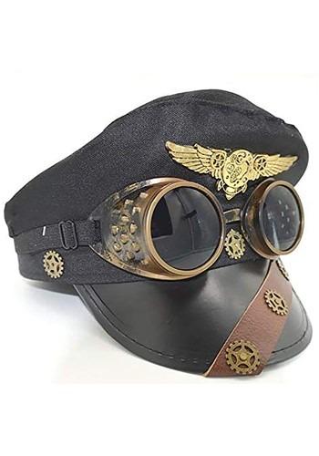 Aviator Pilot Hat W/ Goggles