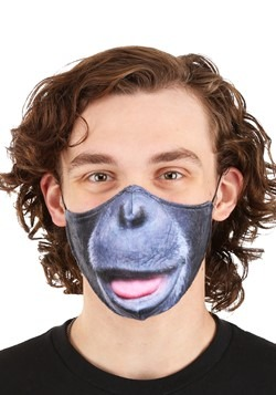 Adult Gorilla Sublimated Face Mask