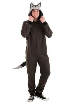 Adult Wolf Onesie Costume
