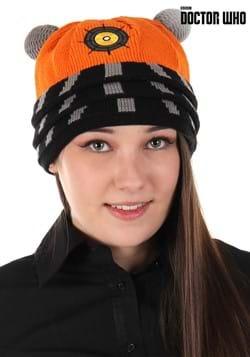 Dalek Knit Beanie Orange