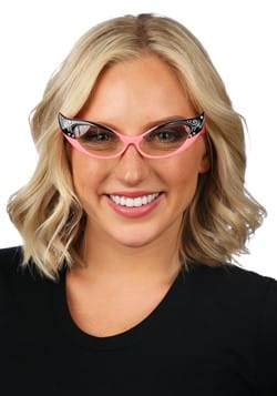 Vintage Cat Eyes Glasses Pink/Clear Update