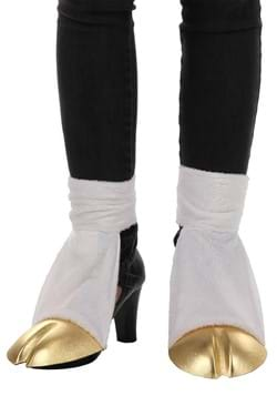 Unicorn Costume Back Hooves Gold