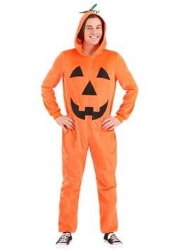 Adult Pumpkin Costume Jumpsuit upd