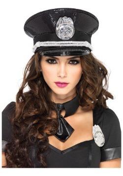 Sequin Cop Hat