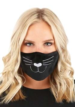 Adult Cat Face Mask Black