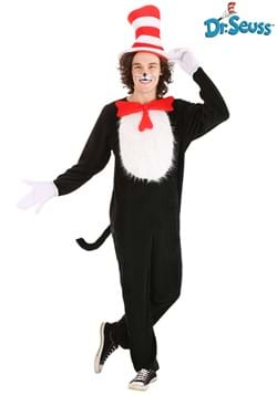 Plus Size Adult Cat in the Hat Costume