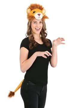Lion Plush Headband & Tail Kit