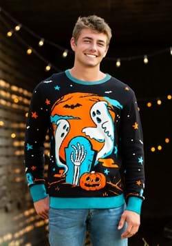 Adult Neon Halloween Sweater-update