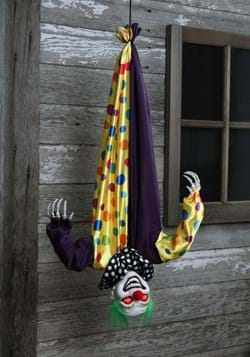 2 8 Ft Animated Hanging Evil Clown