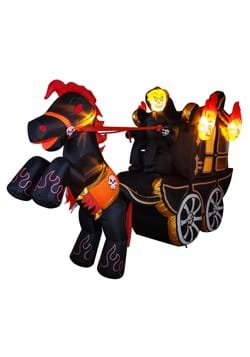 12 Inflatable Halloween Carriage Decoration