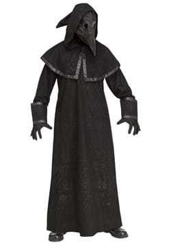 Adult Black Plague Doctor Costume