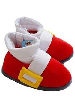 Sonic the Hedgehog Plush Adult Sonic Cosplay Slippers