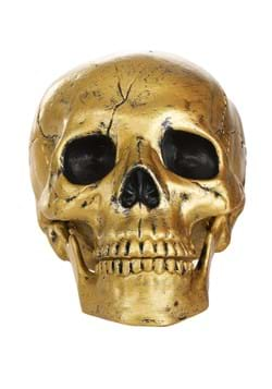 Gold Skull with Movable Jaw