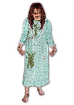 The Exorcist Regan Costume w/ Wig