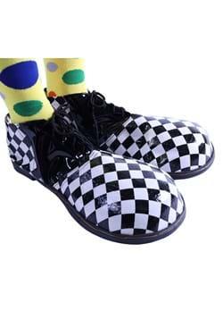 Checkered Jumbo Clown Shoe