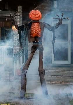 8ft Animated Giant Pumpkin Scarecrow