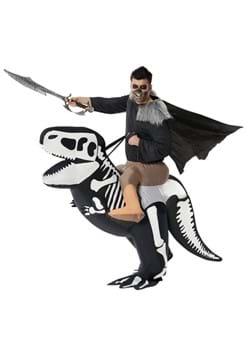 Skeleton T-Rex Ride On Inflatable Adult Costume