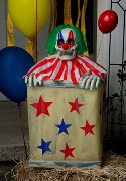 Animated Clown in Box-1