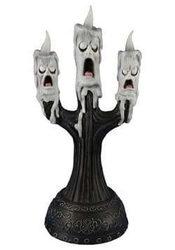 15 Ghost Candle with Faces Animated Prop